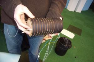 The working prototype instrument